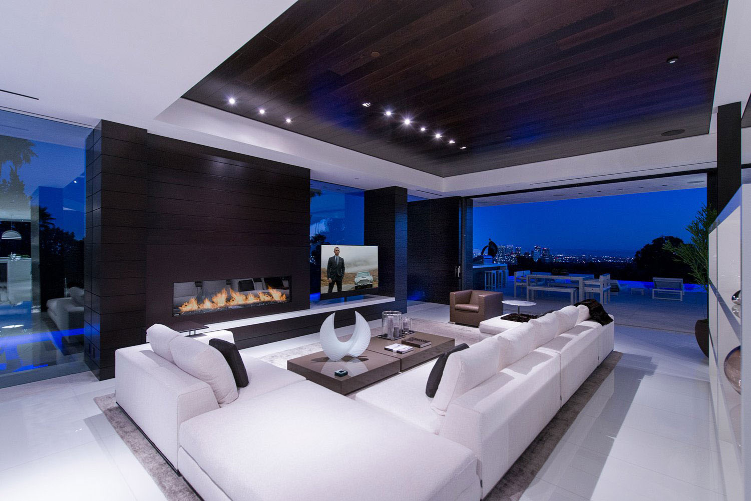 WorldClass Beverly Hills Contemporary Luxury Home With Dramatic Views  iDesignArch  Interior