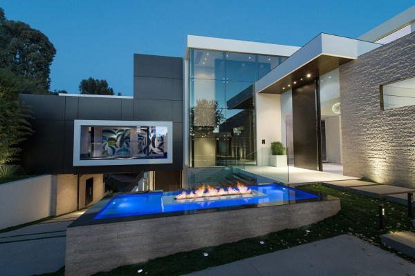 Modern Homes Los Angeles Mansion
