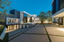 Inside Modern Mansion Beverly Hills