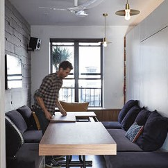 Remodel A Kitchen Tables And Chairs Tiny 350 Square Foot Smart Apartment In New York City ...