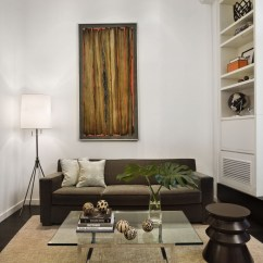 New York Loft Style Living Room Small With Log Burner Apartment Design In Idesignarch Interior