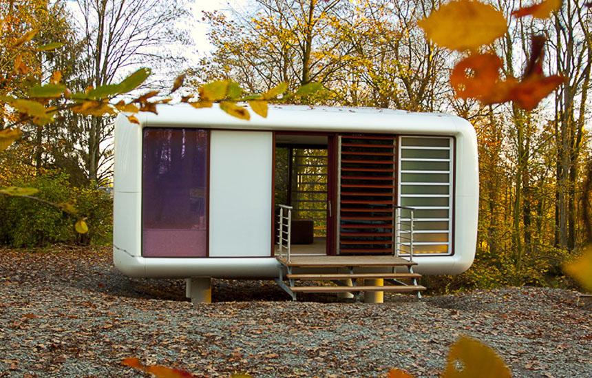 LoftCube  Tiny Prefab Mobile Loft  iDesignArch  Interior Design Architecture  Interior