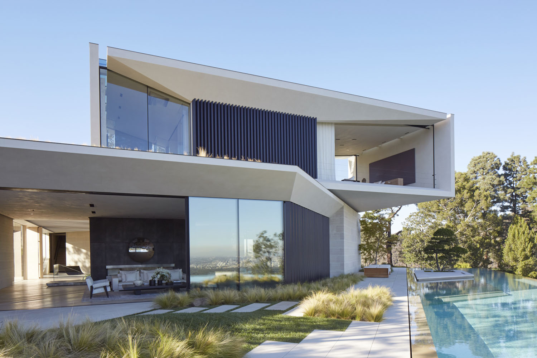 Los Angeles Hillside Villa Retreat With Daring Modern Architecture  iDesignArch  Interior