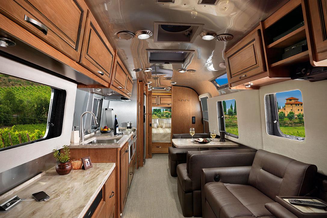 Luxury Airstream Classic Trailer Designed for FullTime
