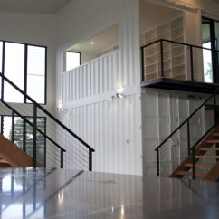 Kitchen Containers Remodels Before And After Photos Luxury Container Home With High End Interior Finishes ...