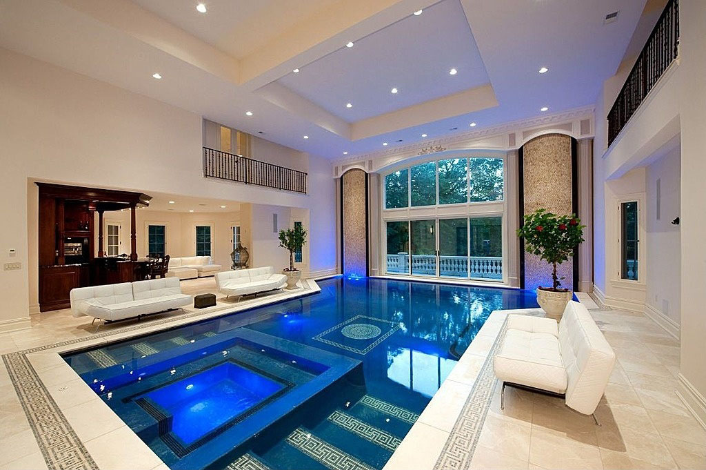 Inspiring Indoor Swimming Pool Design Ideas For Luxury Homes  iDesignArch  Interior Design
