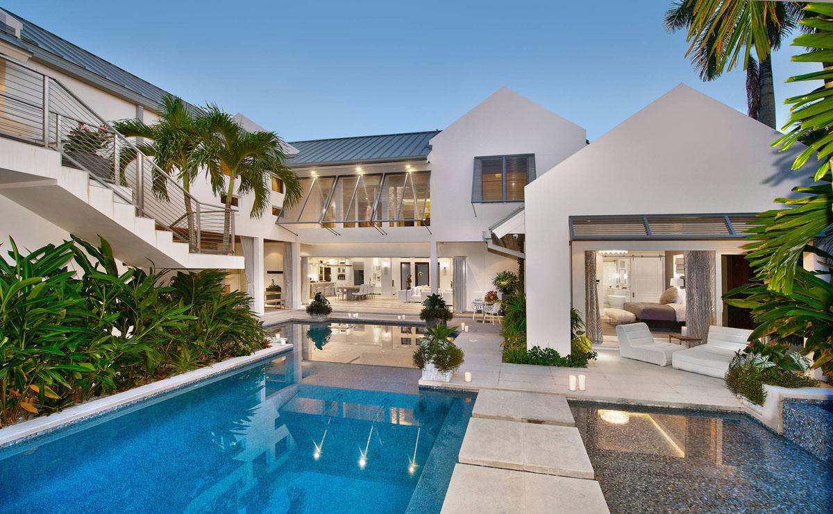Custom ResortLike Beach Style Modern Coastal Home in