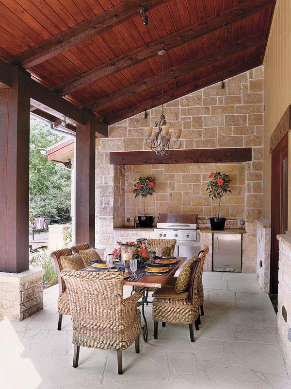 Gorgeous Texas Ranch Style Estate  iDesignArch  Interior Design Architecture  Interior