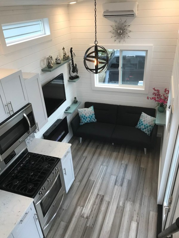 Tiny Luxury Mobile Home Lets Live Simply In