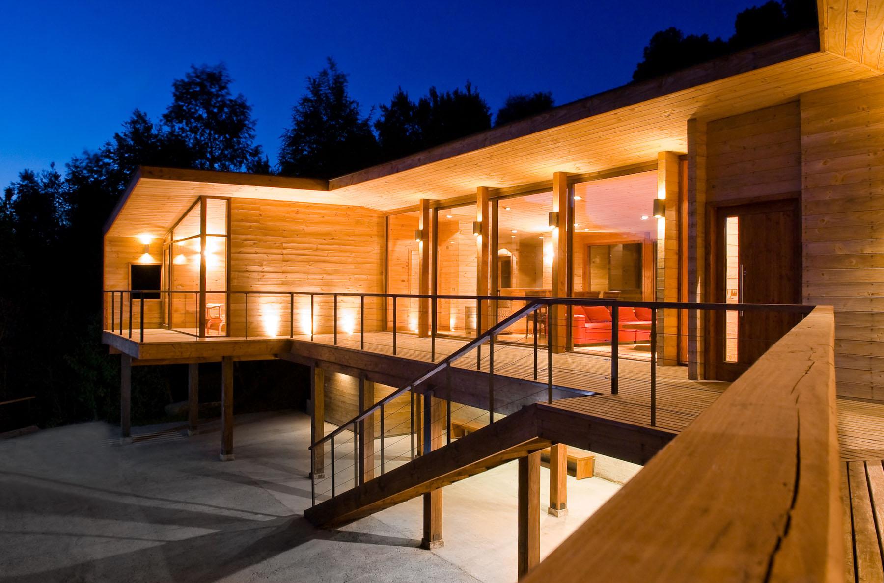 A Modern Retreat In The Chilean Lake District  iDesignArch  Interior Design Architecture