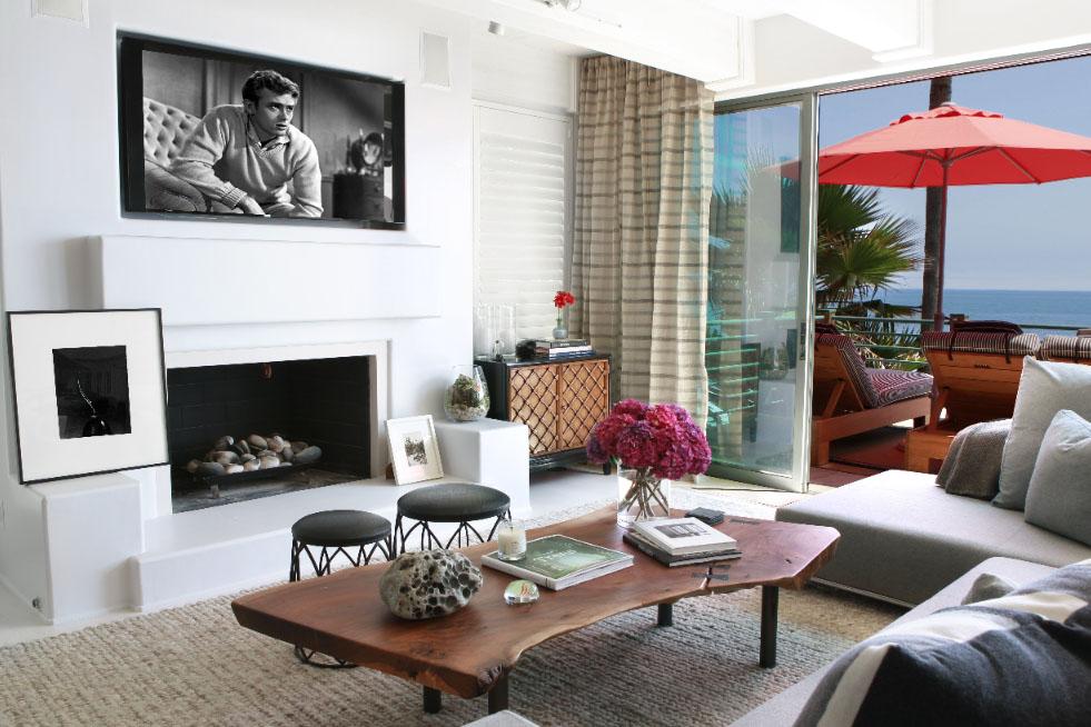 Malibu Beach House With Colorful Coastal Interior Decor  iDesignArch  Interior Design