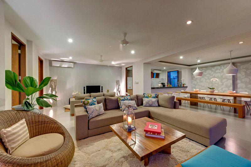 Contemporary Tropical Hillside Villa In Indonesia