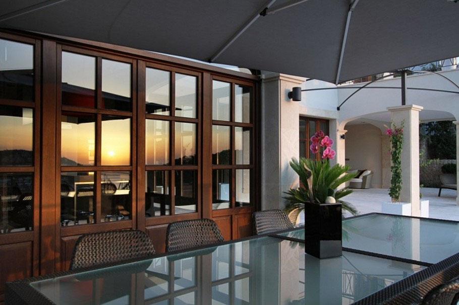 island chairs for kitchen used lift chair recliners sale modern mediterranean luxury villa in mallorca | idesignarch interior design, architecture ...