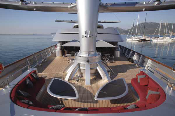Luxury Sailing Yacht Maltese Falcon  iDesignArch  Interior Design Architecture  Interior