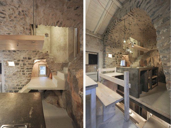 Historical Stone Building In Greece Transformed