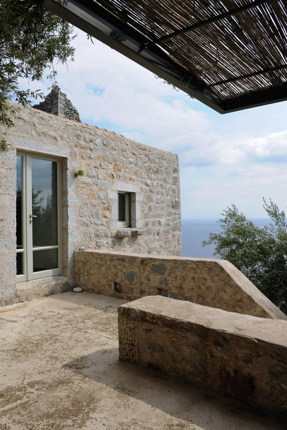 Historical Stone Building In Greece Transformed Into Contemporary Rustic Villa  iDesignArch