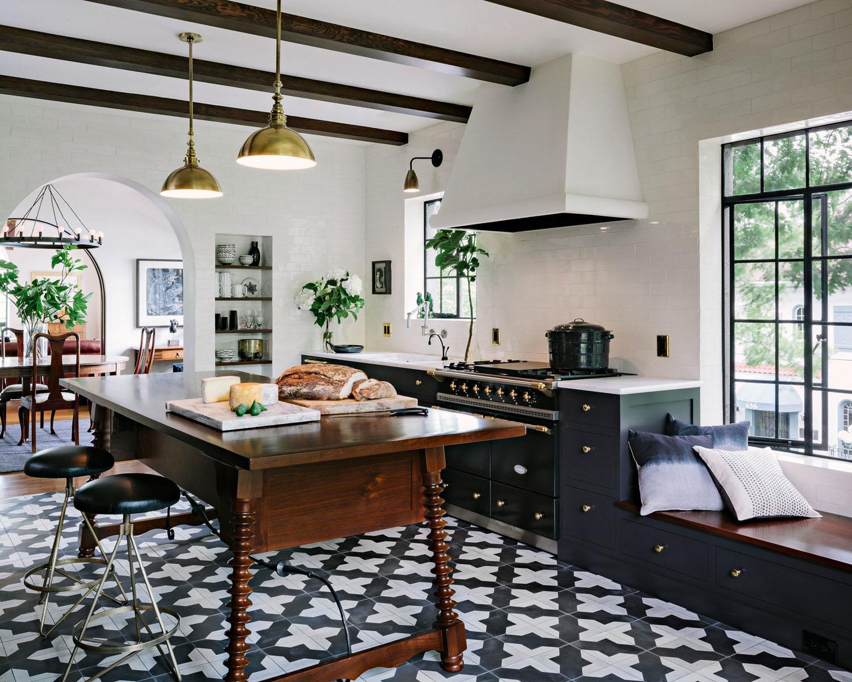Elegant Mediterranean Style Kitchen Design  iDesignArch  Interior Design Architecture