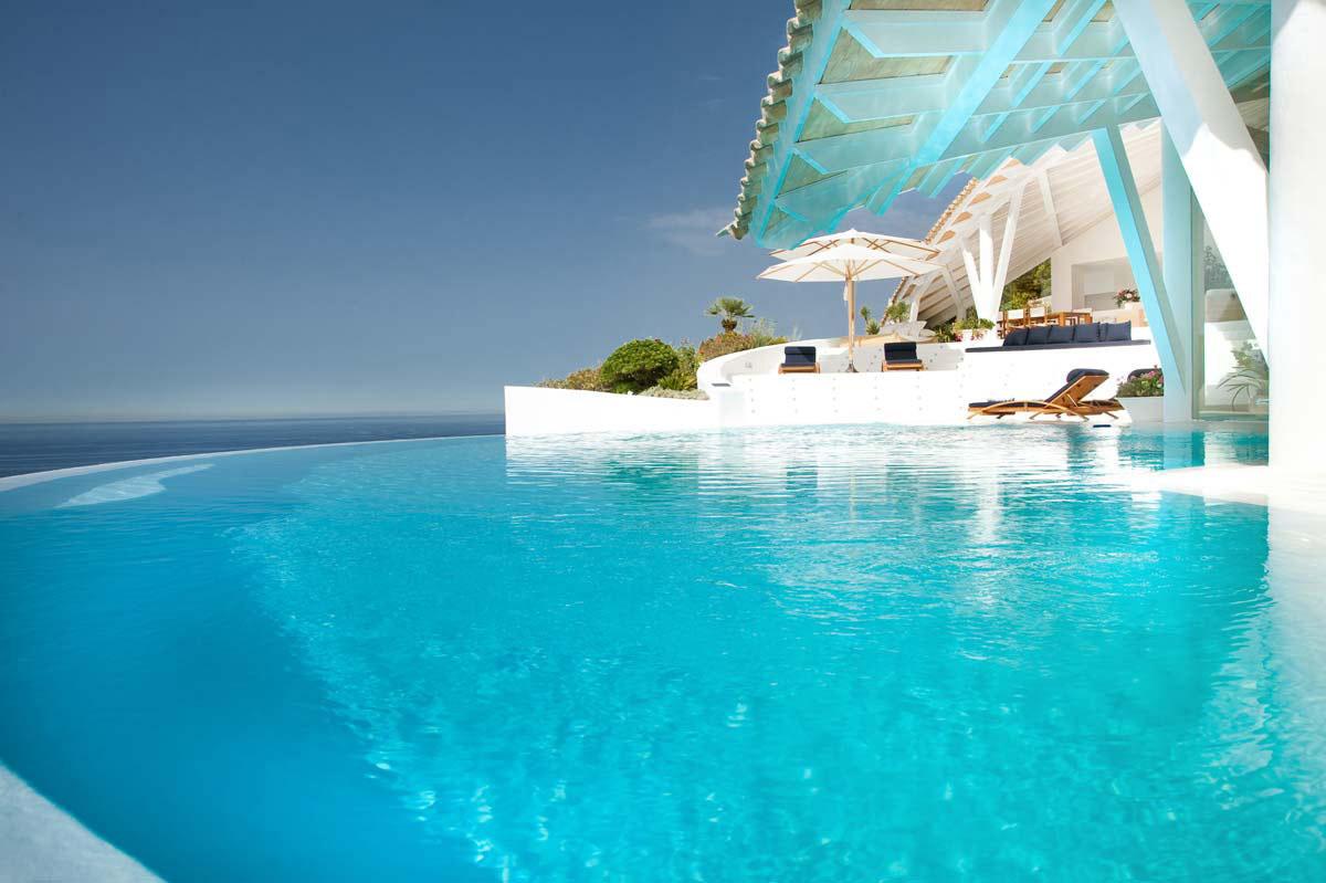 Modern Mediterranean Villa In Majorca By Alberto Rubio  iDesignArch  Interior Design