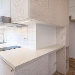 Inexpensive Kitchen Cabinets Ninja Mega System Bl770 Reviews Bright Modern Micro Studio Apartment In Berlin ...