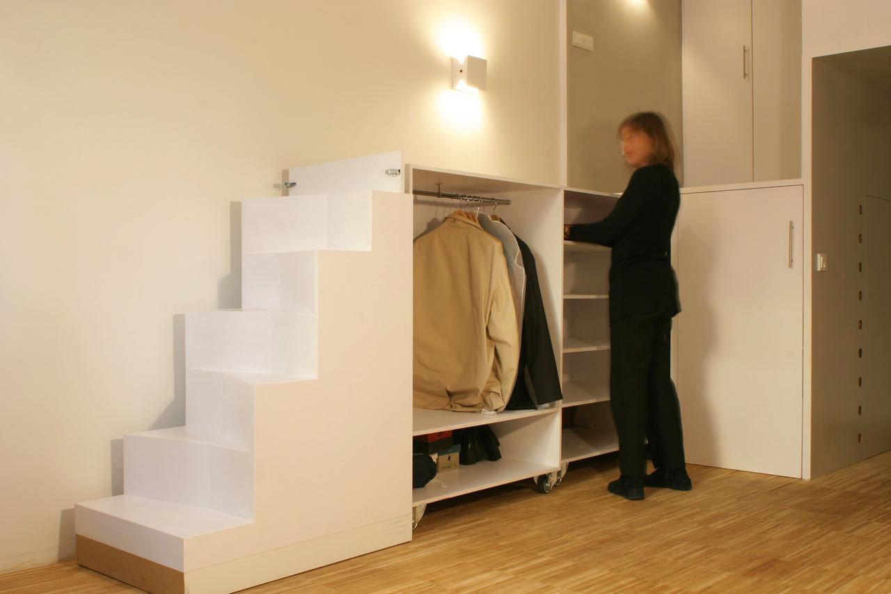 300 Square Foot Micro Studio Loft Apartment With Space Saving Design  iDesignArch  Interior
