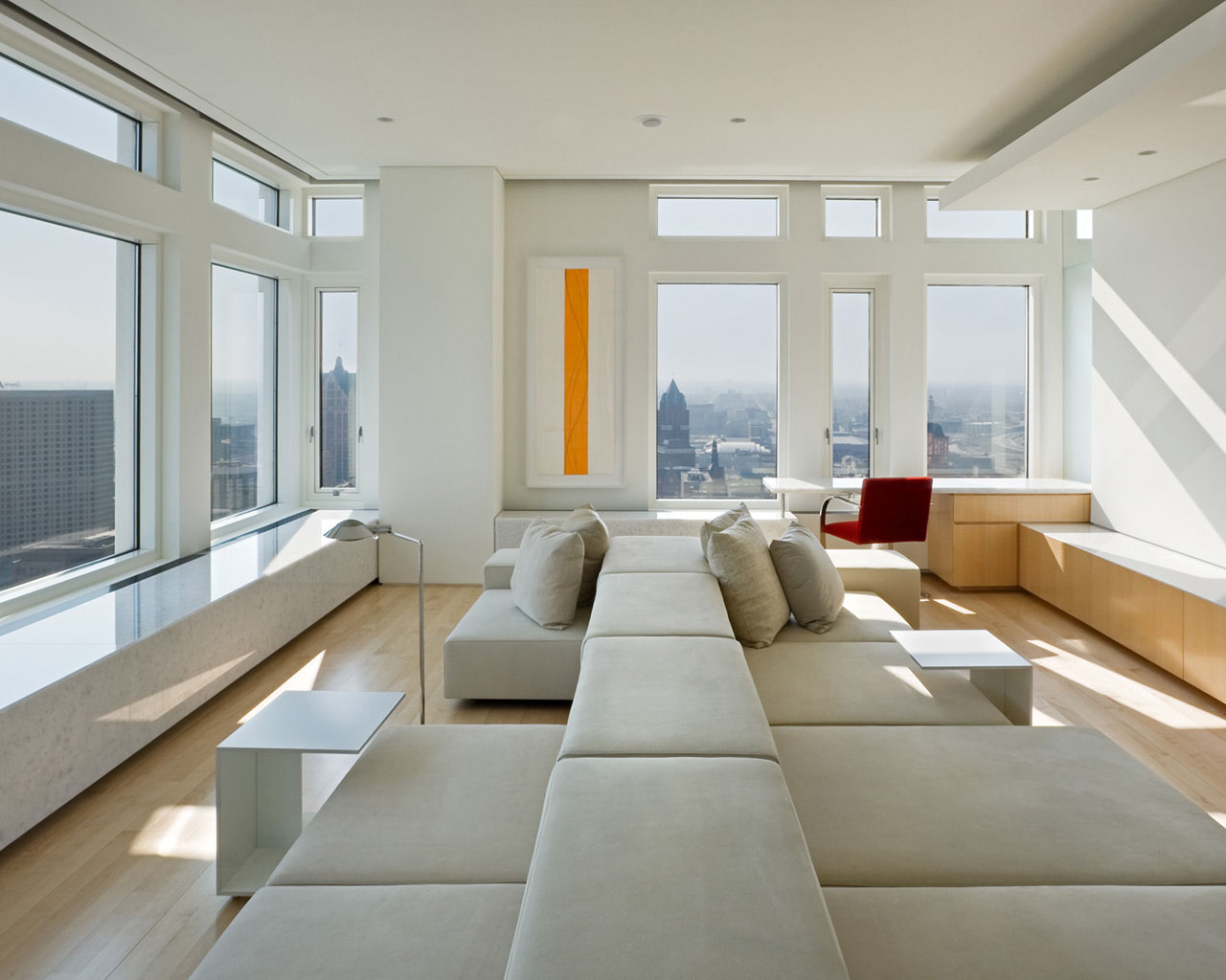 Cloud II Penthouse Apartment In Milwaukee IDesignArch Interior