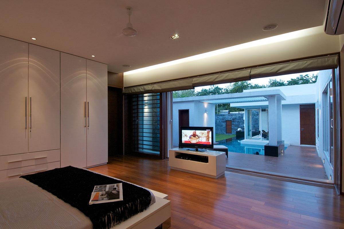 Minimalist Bungalow In India  iDesignArch  Interior Design Architecture  Interior Decorating