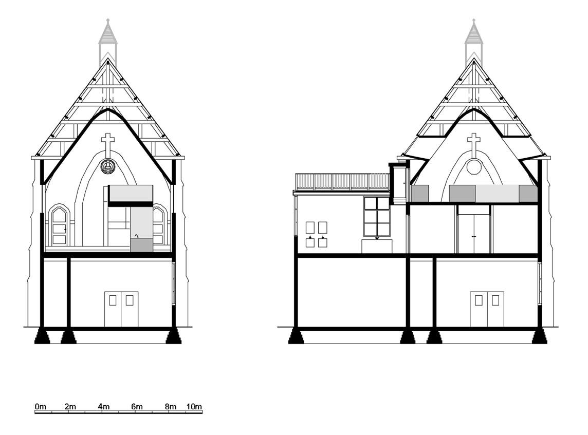 Minimalist Church Conversion Home
