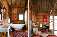 Modern Michigan Barn House Conversion With Rustic ...