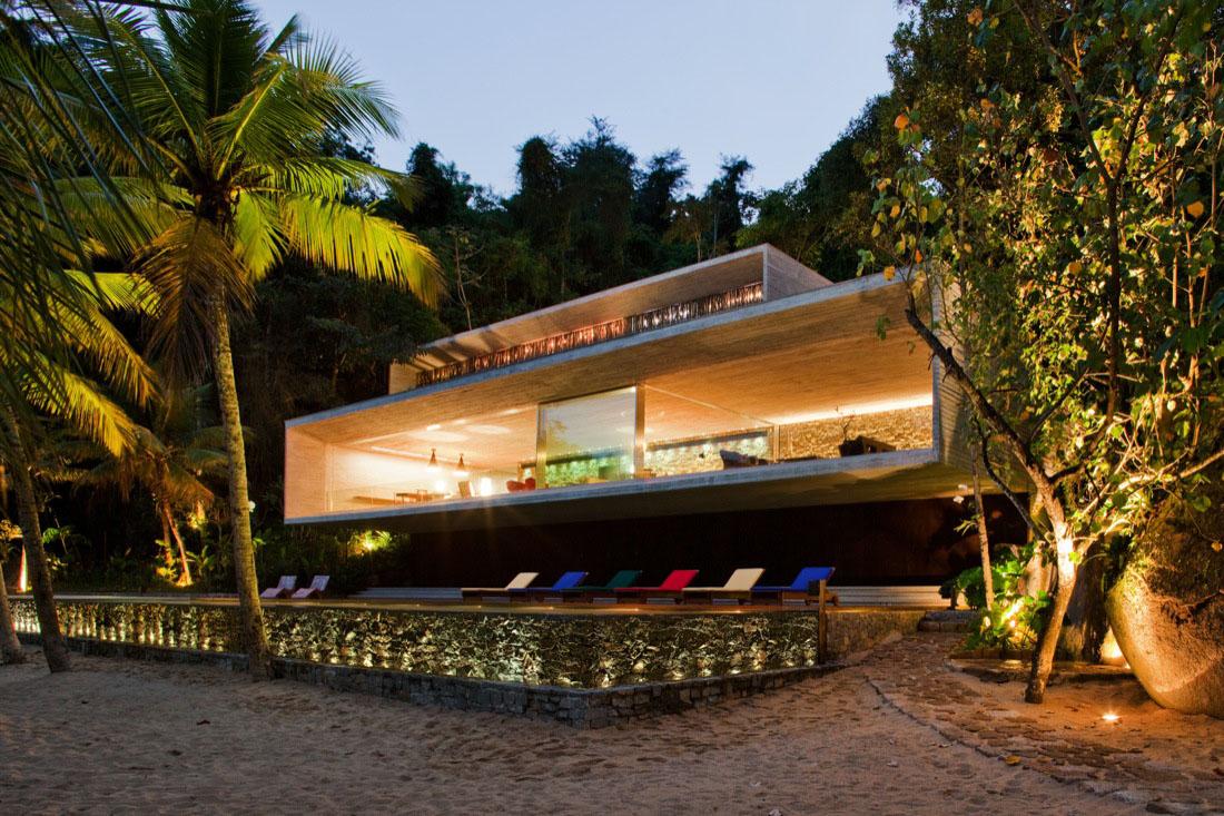 Modern Beach House On The Brazilian Coast  iDesignArch