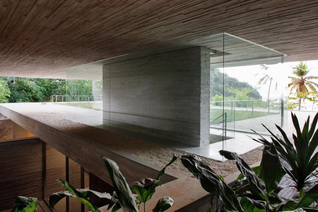 Modern Beach House On The Brazilian Coast  iDesignArch  Interior Design Architecture