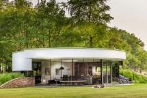 Round Modern House Design