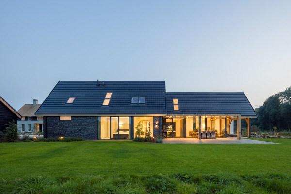Minimalist Modern Country Villa In Rural Setting