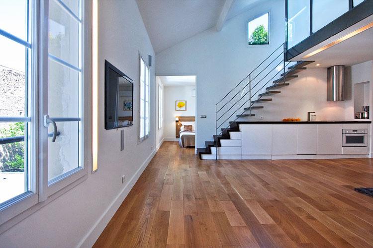 Modern Duplex Apartment Design In Paris | iDesignArch ...