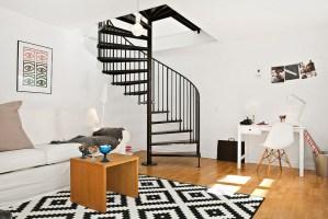 Modern Duplex Apartment Sweden 5