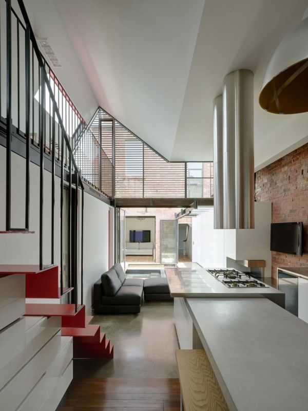 Extension Victorian Terrace In City