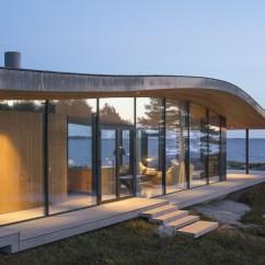 Pine Kitchen Chairs Mid Century Modern Swivel Chair Sea Front Summer Glass House In Finland | Idesignarch Interior Design, Architecture ...
