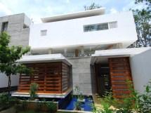 Pic of Modern House in Bangalore India