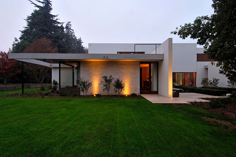 Modern House In Santiago By 57 Studio  iDesignArch