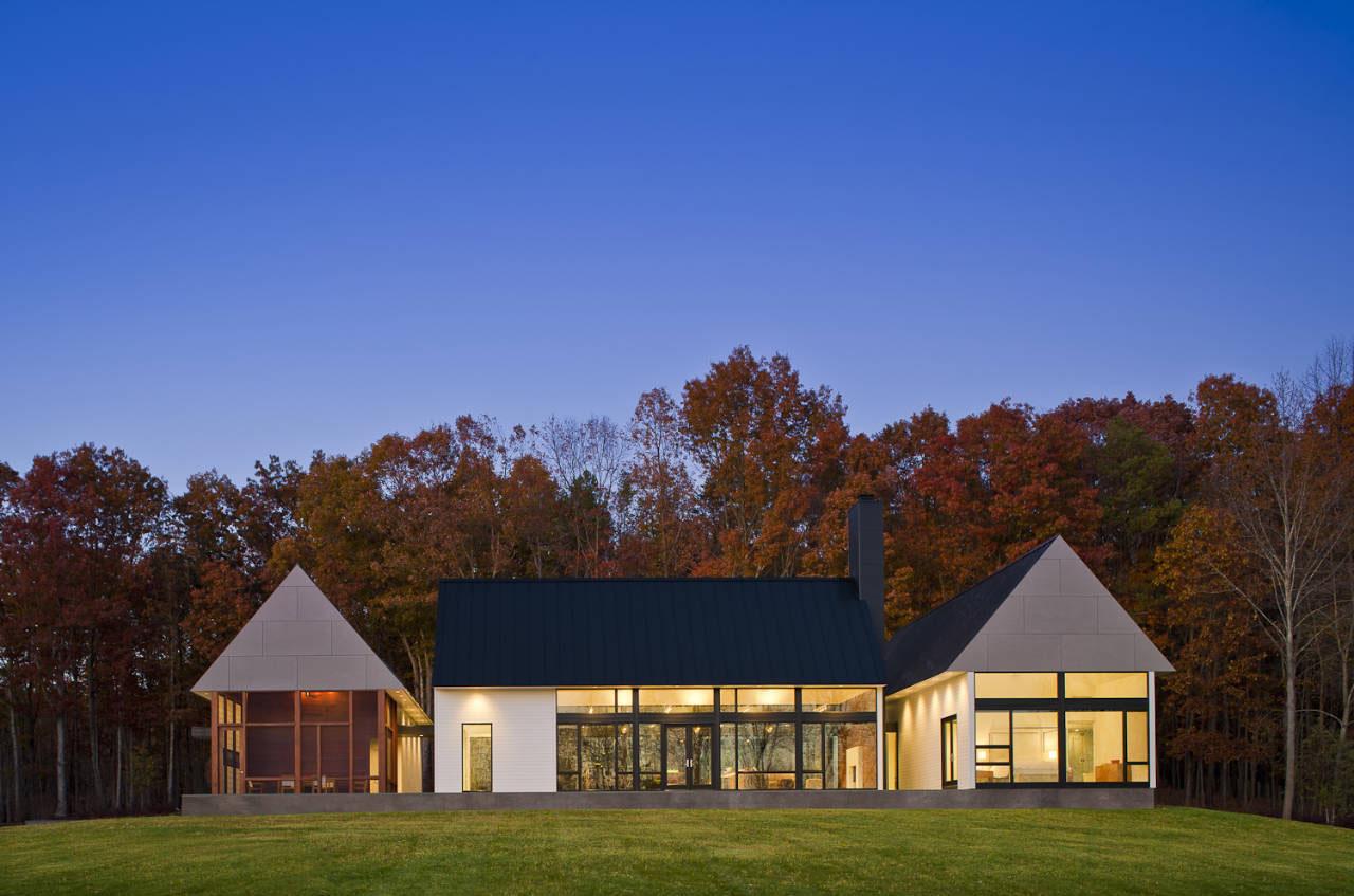 Modern House In Virginia Countryside  iDesignArch
