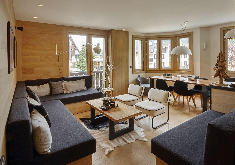 Modern Ski Resort Apartment In The French Alps  iDesignArch  Interior Design Architecture