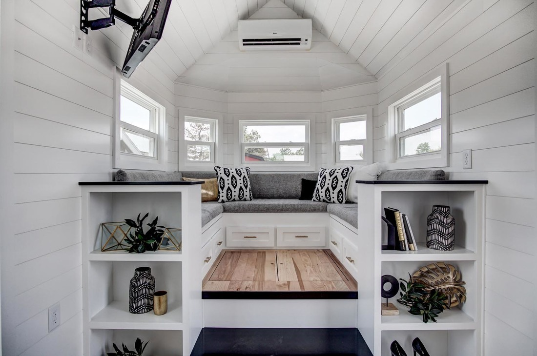 Beautifully Designed Tiny House with Luxury Kitchen and Spacious Living Area  iDesignArch