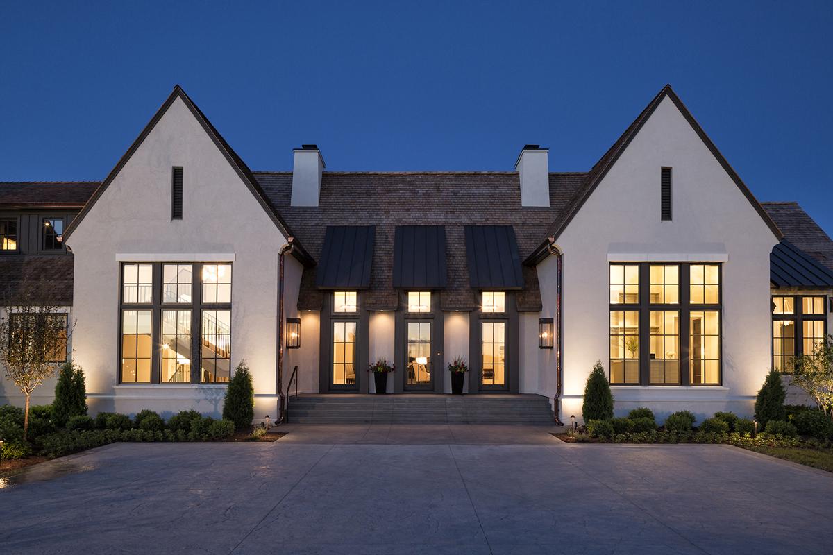 Luxury Contemporary Dream Home with Modern Tudor
