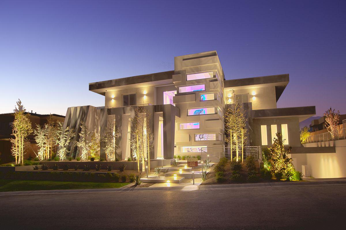 Best Kitchen Gallery: Modern Upscale Home In Las Vegas Idesignarch Interior Design of Modern Designed Homes  on rachelxblog.com