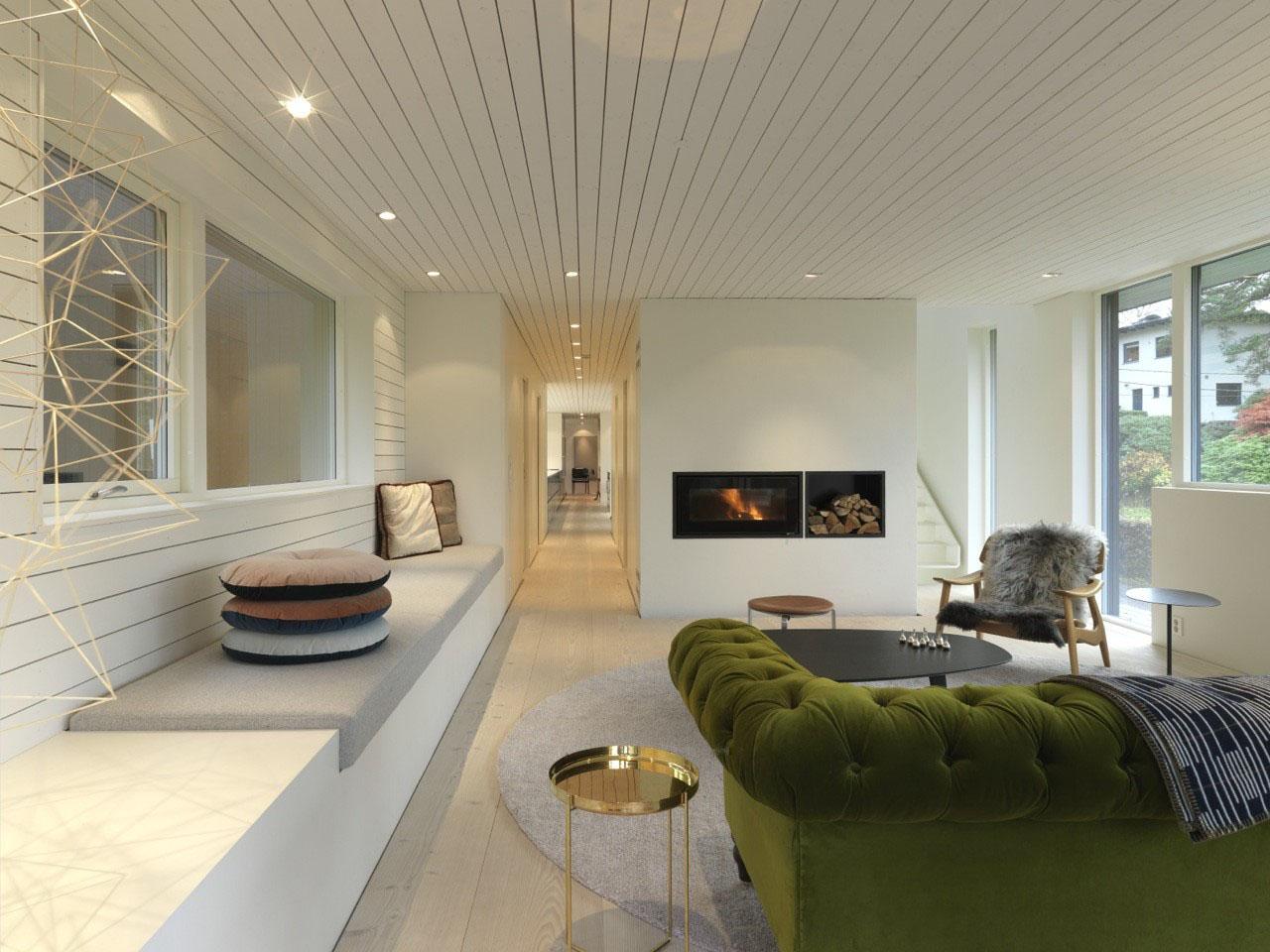 Modern Suburban Villa In Norway IDesignArch Interior