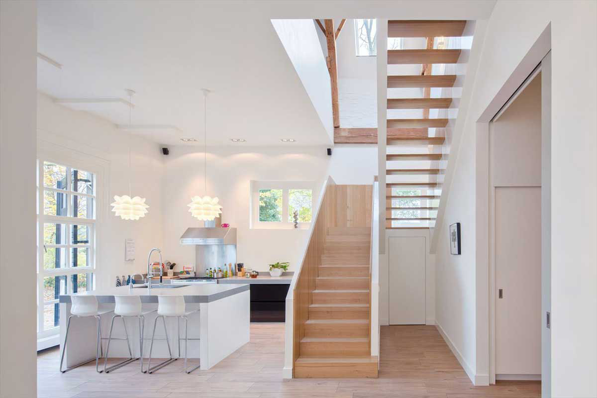 An 18th Century Stable Converted Into A Modern Coach House