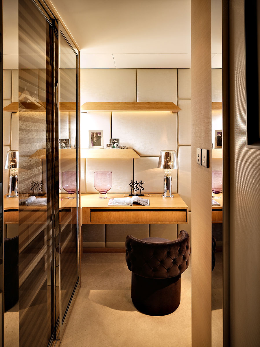 Small Luxury Flat In Hong Kong  iDesignArch  Interior