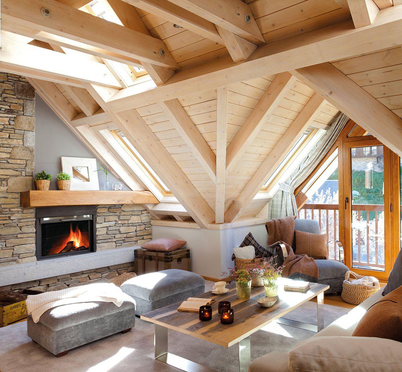 Cozy Rustic Mountain Retreat With A Contemporary Twist  iDesignArch  Interior Design