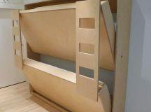 Cool Murphy Bunk Beds | iDesignArch | Interior Design, Architecture & Interior Decorating eMagazine