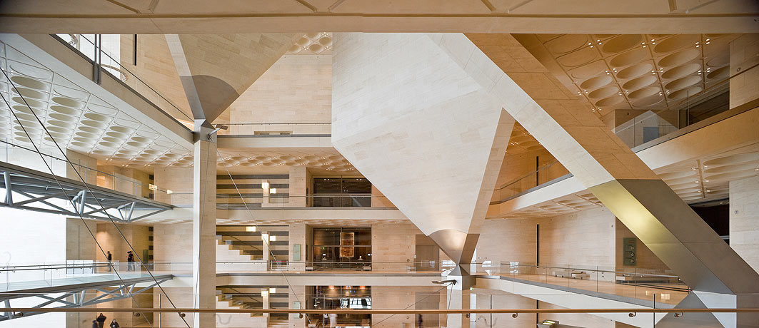 modern wing chair covers amazon museum of islamic art in doha by i. m. pei | idesignarch interior design, architecture ...