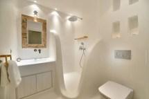Greek-mediterranean Style Villa In Mykonos With Modern